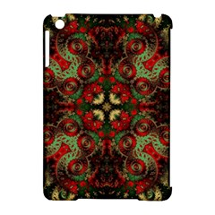 Fractal Kaleidoscope Apple Ipad Mini Hardshell Case (compatible With Smart Cover) by BangZart