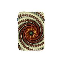 Fractal Pattern Apple Ipad Mini Protective Soft Cases by BangZart