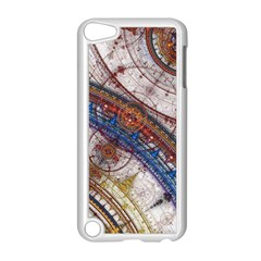 Fractal Circles Apple Ipod Touch 5 Case (white) by BangZart