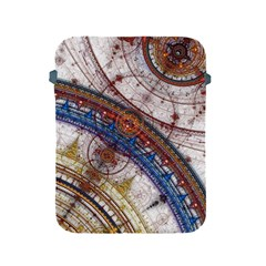 Fractal Circles Apple Ipad 2/3/4 Protective Soft Cases by BangZart