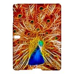 Fractal Peacock Art Samsung Galaxy Tab S (10 5 ) Hardshell Case  by BangZart