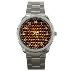 Fond 3d Sport Metal Watch by BangZart