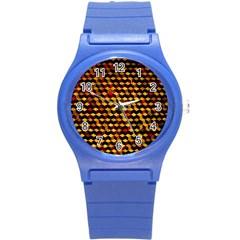 Fond 3d Round Plastic Sport Watch (s) by BangZart