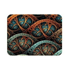 Fractal Art Pattern Flower Art Background Clored Double Sided Flano Blanket (mini)  by BangZart