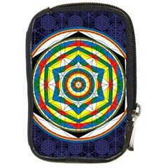 Flower Of Life Universal Mandala Compact Camera Cases by BangZart