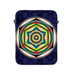 Flower Of Life Universal Mandala Apple Ipad 2/3/4 Protective Soft Cases by BangZart