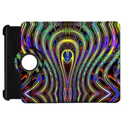 Curves Color Abstract Kindle Fire Hd 7  by BangZart