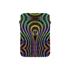 Curves Color Abstract Apple Ipad Mini Protective Soft Cases by BangZart