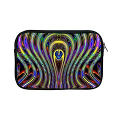 Curves Color Abstract Apple Ipad Mini Zipper Cases by BangZart