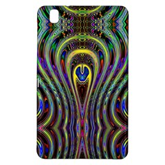 Curves Color Abstract Samsung Galaxy Tab Pro 8 4 Hardshell Case by BangZart