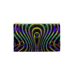 Curves Color Abstract Cosmetic Bag (xs) by BangZart