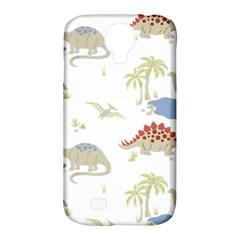 Dinosaur Art Pattern Samsung Galaxy S4 Classic Hardshell Case (pc+silicone) by BangZart