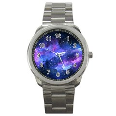 Galaxy Sport Metal Watch by Kathrinlegg