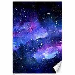 Galaxy Canvas 12  X 18   by Kathrinlegg
