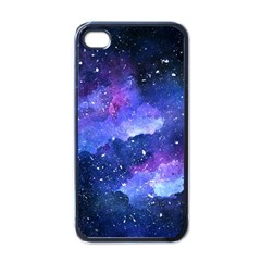 Galaxy Apple Iphone 4 Case (black) by Kathrinlegg