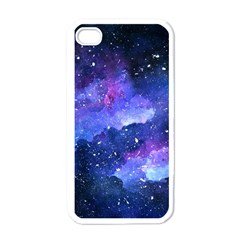 Galaxy Apple Iphone 4 Case (white) by Kathrinlegg