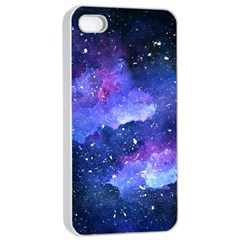 Galaxy Apple Iphone 4/4s Seamless Case (white) by Kathrinlegg