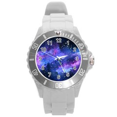 Galaxy Round Plastic Sport Watch (l) by Kathrinlegg