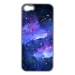 Galaxy Apple Iphone 5 Case (silver) by Kathrinlegg