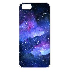 Galaxy Apple Iphone 5 Seamless Case (white) by Kathrinlegg