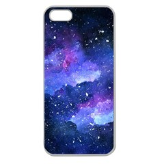 Galaxy Apple Seamless Iphone 5 Case (clear) by Kathrinlegg