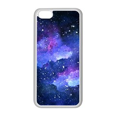 Galaxy Apple Iphone 5c Seamless Case (white) by Kathrinlegg