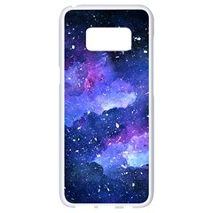 Galaxy Samsung Galaxy S8 White Seamless Case by Kathrinlegg