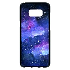 Galaxy Samsung Galaxy S8 Plus Black Seamless Case by Kathrinlegg