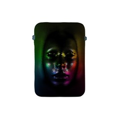 Digital Art Psychedelic Face Skull Color Apple Ipad Mini Protective Soft Cases by BangZart