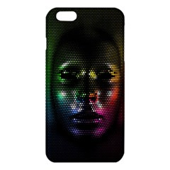 Digital Art Psychedelic Face Skull Color Iphone 6 Plus/6s Plus Tpu Case by BangZart