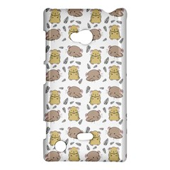Cute Hamster Pattern Nokia Lumia 720 by BangZart