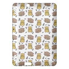 Cute Hamster Pattern Kindle Fire Hdx Hardshell Case