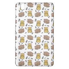 Cute Hamster Pattern Samsung Galaxy Tab Pro 8 4 Hardshell Case by BangZart