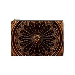 Decorative Antique Gold Cosmetic Bag (medium)  by BangZart