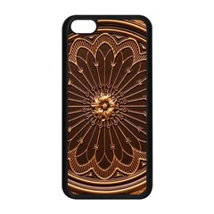 Decorative Antique Gold Apple Iphone 5c Seamless Case (black) by BangZart