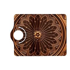 Decorative Antique Gold Kindle Fire Hd (2013) Flip 360 Case by BangZart