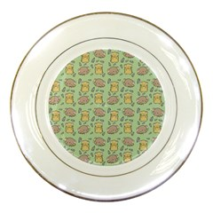 Cute Hamster Pattern Porcelain Plates by BangZart