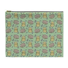Cute Hamster Pattern Cosmetic Bag (xl) by BangZart