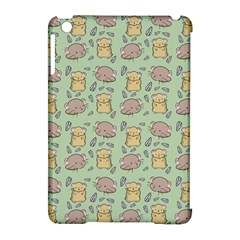 Cute Hamster Pattern Apple Ipad Mini Hardshell Case (compatible With Smart Cover) by BangZart