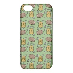 Cute Hamster Pattern Apple Iphone 5c Hardshell Case by BangZart