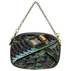 Computer Ram Tech Chain Purses (one Side)  by BangZart