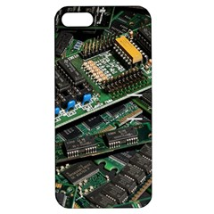 Computer Ram Tech Apple Iphone 5 Hardshell Case With Stand by BangZart