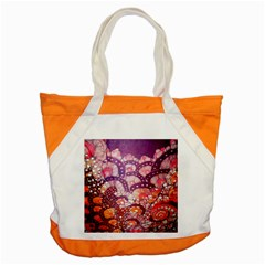 Colorful Art Traditional Batik Pattern Accent Tote Bag by BangZart