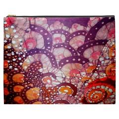 Colorful Art Traditional Batik Pattern Cosmetic Bag (xxxl)  by BangZart