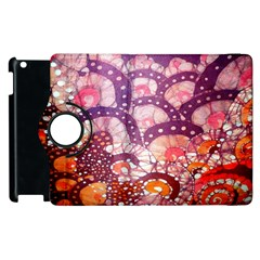 Colorful Art Traditional Batik Pattern Apple Ipad 3/4 Flip 360 Case by BangZart