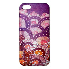 Colorful Art Traditional Batik Pattern Iphone 5s/ Se Premium Hardshell Case by BangZart