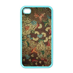 Colorful The Beautiful Of Art Indonesian Batik Pattern Apple Iphone 4 Case (color) by BangZart