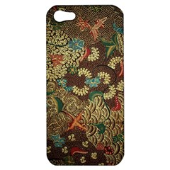 Colorful The Beautiful Of Art Indonesian Batik Pattern Apple Iphone 5 Hardshell Case by BangZart