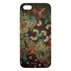 Colorful The Beautiful Of Art Indonesian Batik Pattern Iphone 5s/ Se Premium Hardshell Case by BangZart