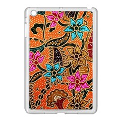Colorful The Beautiful Of Art Indonesian Batik Pattern(1) Apple Ipad Mini Case (white) by BangZart